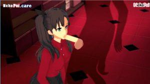 3D Hentai Fate Stay Night Rin Tohsaka NekoPoi