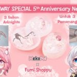 [GIVEAWAY] Part 1 GIVEAWAY SPECIAL 5th Anniversary NekoPoi - Sabun Arknights